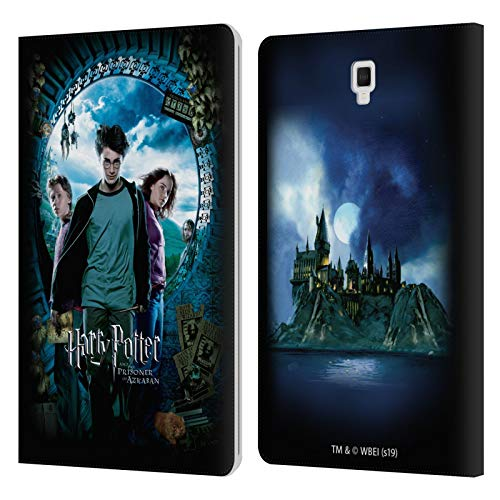 Head Case Designs Licenza Ufficiale Harry Potter Ron, Harry & Hermione Poster Prisoner of Azkaban IV Cover in Pelle a Portafoglio Compatibile con Galaxy Tab S4 10.5 (2018)
