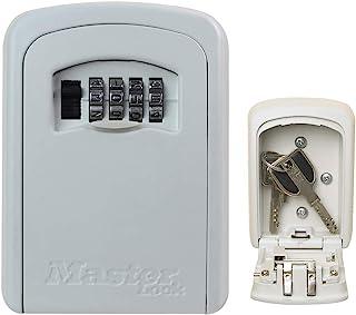 Master Lock Key Lock Box [Medium Size] [Wall Mounted] - [White] 5401Eurdcrm - Key Safe