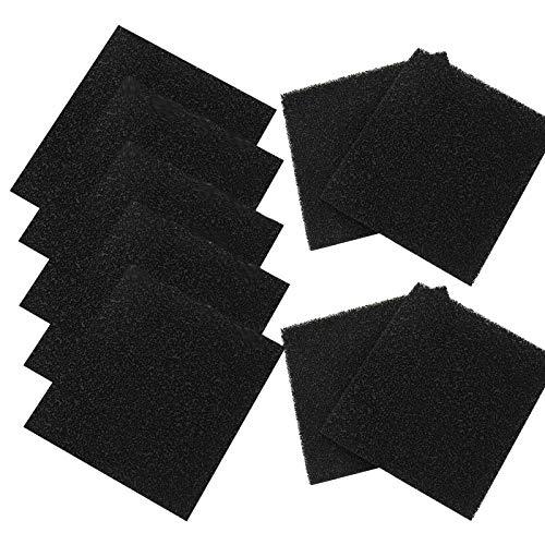 9 filtri di ricambio per lettiera del gatto, contenitore per compostaggio, filtro al carbone, filtro per lettiera e lettiera per gatti