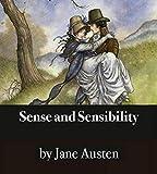 Sense And Sensibility (illustrated) (English Edition)