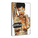 Berühmte amerikanische Sängerin Rihanna Unapologetic The