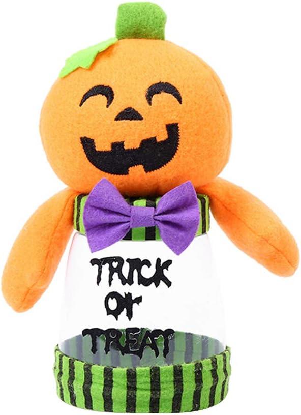 SOIMISS Halloween Candy Jar Pumpkin Doll Super popular specialty store Max 67% OFF Box Jars C Cookie