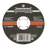 Silverline 103662 Disco daTaglio per metallo, Pro/piatto...