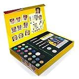 NANA'S PARTY Home Collection Nana 's Party - Caja de Regalo para Pintar Cara de Snazaroo, para Maquillaje, Pegatinas, Guías, cepillos, Plantillas +