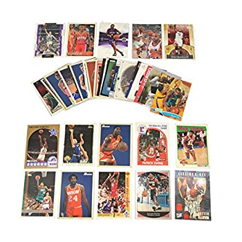 40 Basketball Hall-of-Fame & Superstar Cards Collection Including Players such as Michael Jordan Magic Johnson LeBron James Ships in Protective Plastic Case Perfect for Gift Giving.