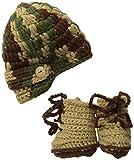 Mud Pie Baby-Boys Newborn Crochet Photography Set
