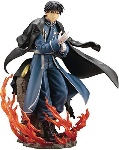 Kotobukiya Fullmetal Alchemist: Roy Mustang ArtFX J Statue, Multicolor