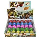 Wenosda Huevos de Dinosaurio Toy Novedad eclosión Huevo de Dinosaurio para niños...