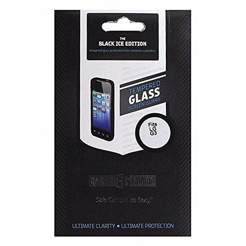 Gadget Guard Ice Edition Glas Bildschirmschutzfolie für LG G3–Schwarz