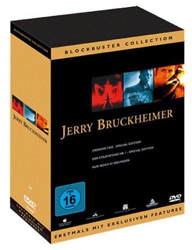 Jerry Bruckheimer Triple Action Pack (Nur noch 60 Sekunden/Der Staatsfeind Nr.1/Crimson Tide) [Box Set] [3 DVDs]