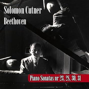 Ludwig Van Beethoven : Sonatas por Solomon 23, 28, 30, 31