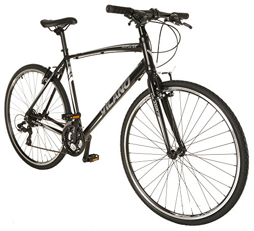 Vilano Diverse 2.0 Performance Hybrid Bike 24 Speed Road Bike 700c