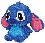 BBHH Bloques Educativos Toy Stitch Bloques De Conexión Regalos para Niños,Azul