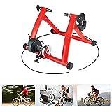 Hammer Bicicleta Turbo Trainer magnética, soporte for bicicletas Trainer for las bicicletas de cubierta del rodillo, de pie con la rueda de reducción de ruido for la cubierta del instructor 7 Ciclo Re