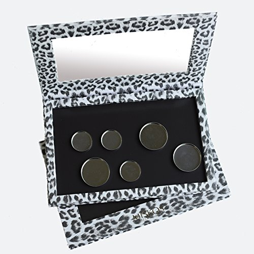 DIY Empty Magnetic Makeup Palette Professional Leopard Eyeshadow Cosmetic Box