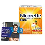 Nicorette Nicotine Gum to Stop Smoking, with...