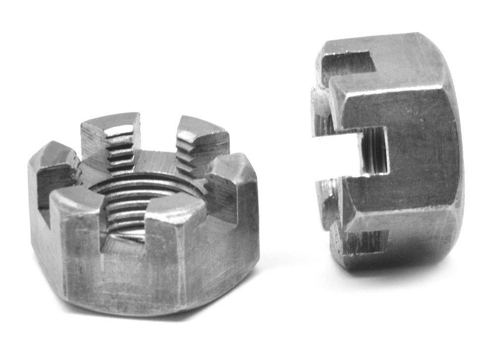 3-12 Fine Thread Grade 8 Slotted 55% OFF Pla Hex Medium Carbon Nut Steel depot