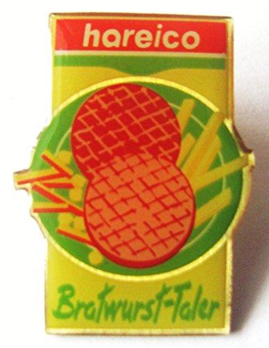 Hareico - Bratwurst Taler - Pin 27 x 22 mm