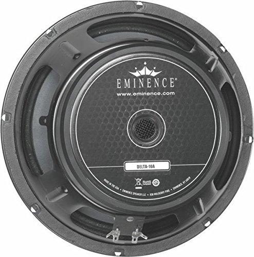 of audio speaker ratings Eminence American Standard Delta-10A 10