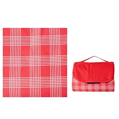 PLOK Lavable 200 * 200 cm Esterillas de campamento Alfombras de picnic al aire libre Playa tienda de campaña Mat Manta niños a prueba de humedad