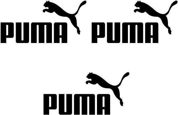 Lot de 3 écussons thermocollants en vinyle pour T-shirt Puma avec ...
