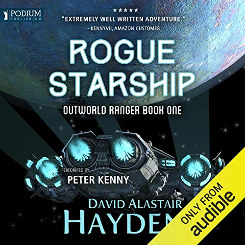 Rogue Starship audiobook cover art