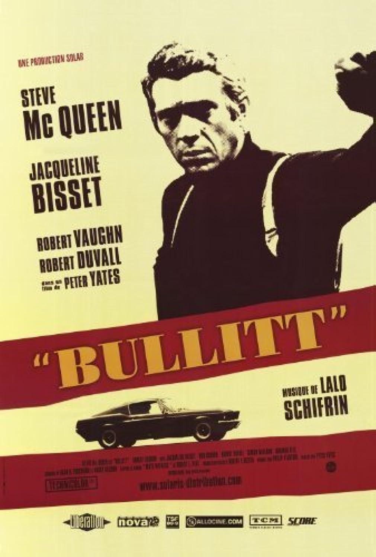 Bullitt Poster Film (68,6x 101,6cm–69cm x 102cm) (1968) (Franzsisch Stil A) durch Dekorative Wand Poster