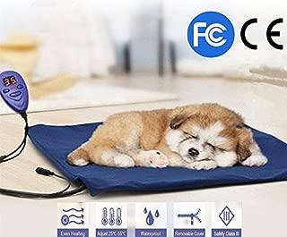 FLYMEI Pet Mat, Pet Heating Pad, Pet Training Mat, Dog/Cat Electric Heating Pad, Waterproof Pet Cover