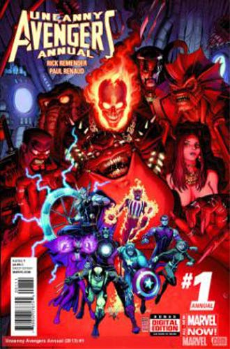 Uncanny avengers v2 08 : Axis continue ici !
