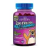 21st Century Zoo Friends Multi Gummies, Fruit 60 Count