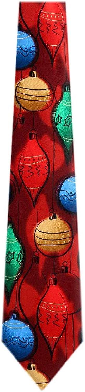 JG-6685 - Jerry Garcia Mens Fashion Designer Brand Christmas Silk Necktie Ties