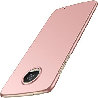 Anccer Moto Z2 Play Case [Colorful Series] [Ultra-Thin] [Anti-Drop] Premium Material Slim Ultra Thin Cover (Pink)