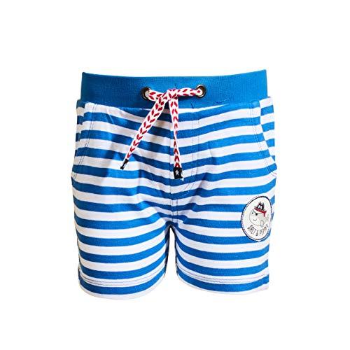 SALT AND PEPPER Baby-Jungen Bermuda Ahoy Stripes Stick Bermudas, Cobalt Blue, 62