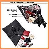 Clutch 2-in-1 - Kleine Handtasche Elegante Abendtasche - Damen Umhängetasche - Schultertasche Abnehmbarer Gurt - inkl. Schleife - 9