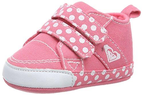 Roxy Canvas Sneaker - Zapatillas Deportivas para niños, Color Rosa