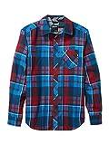 Marmot Anderson Lightweight Flannel Camicia da Esterni A Maniche Lunghe, Camicia da Trekking, con Protezione UV, Traspirante, Uomo, Clear Blue, XL