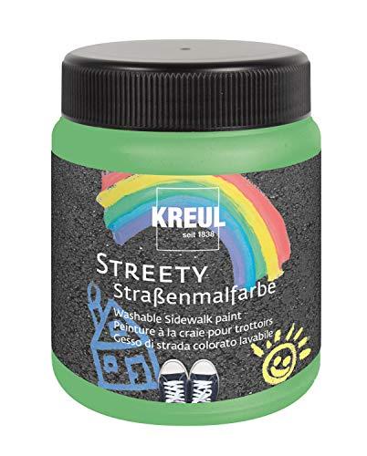 Kreul Pintura para Calle Streety en Verde Hierba 200 ml, Pintar con Pincel o Rodillo, Tiza líquida, Vegana, dermatológicamente Probada, Lavable