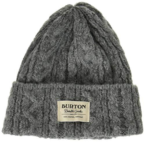 Burton(バートン) スノーボード ニット帽 メンズ ビーニー ニットキャップ ZOWIE BEANIE 2019-20年モデル 1SZ GRAY HEATHER 17652103025