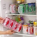HANGON Home Kühlschrank Organizer Flaschenhalter Tablett Küche Kunststoff...