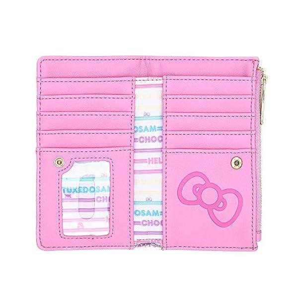 Loungefly x Sanrio Hello Kitty Kawaii All-Over Print Flap Wallet
