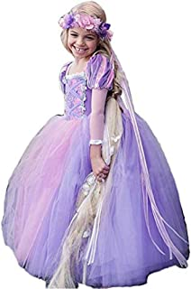 Princess Dress Up Cinderella Costumes Kids Party Cosplay Dress for Little Girl 2-12T