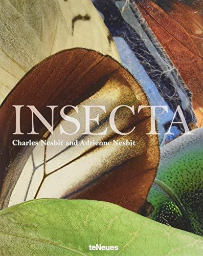 Insecta. Ein großformatiger Bildband mit mehr als 70 super-vergrößerten Farbfotografien von verbreiteten und seltenen Insektenarten (Englisch) 25 x 32 cm, 220 Seiten