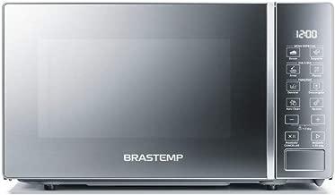 Micro-ondas Brastemp 20 Litros cor Inox Espelhado com Funções Pré-preparo - BMS20AR 110V