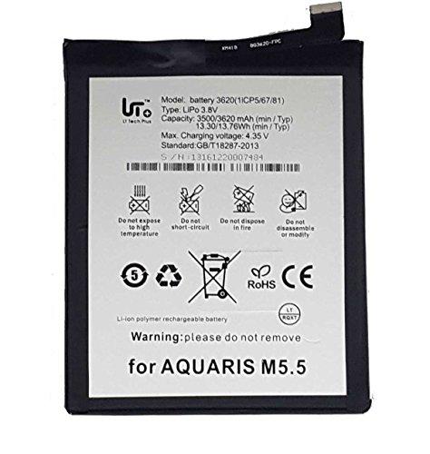 Todobarato24h Bateria Compatible con BQ Aquaris M 2017/ M5.5 3620 mAh Voltaje 4.35v