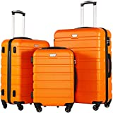 Best Suitcases Sets - Coolife Luggage 3 Piece Set Suitcase Spinner Hardshell Review