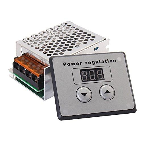 TOOGOO 4000 Watt 220 V AC SCR Spannungsregler Dimmer Elektromotor Speed Temperaturregler fuer Warmwasserbereiter Kleine Motoren