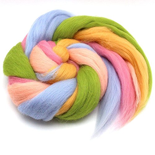 100 g Feen Farben Filzwolle