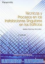 Técnicas y procesos en las instalaciones singulares en los edificios