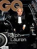 GQ ITALIA Magazine Gennaio 2019 RALPH LAUREN Cover, BEST DRESSED MEN 2019