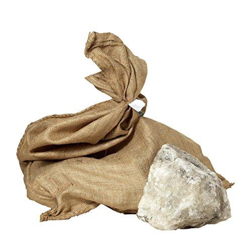 25 kg Leckstein Salzleckstein Naturleckstein zur Salzversorgung für Wild, Rinder, Pferde, Schafe und Ziegen